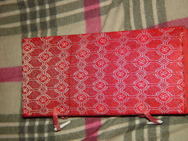 Chinese Cloth Red Box