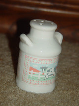 One Old White Cow Salt Shaker image 4