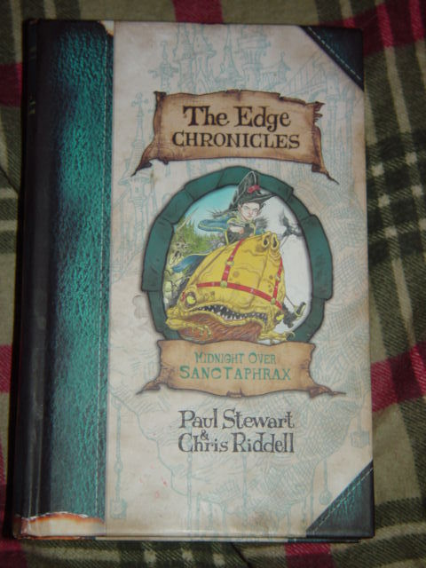 The Edge Chronicles Midnight over Sanctaphrax Bk. 3 Paul Stewart & Chris Riddel