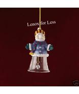 LENOX Gorham Winter Follies Snowman Bell Ornament (NEW) - $11.99