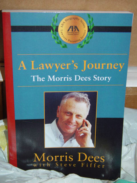 A Lawyer's Journey  The Morris Dees Story by Morris Dees 2001 Paperback image 3
