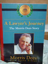 A Lawyer's Journey  The Morris Dees Story by Morris Dees 2001 Paperback image 2