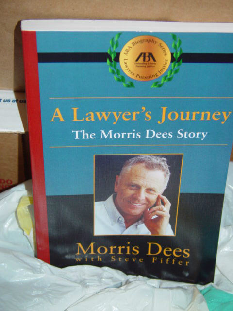 A Lawyer's Journey  The Morris Dees Story by Morris Dees 2001 Paperback image 5