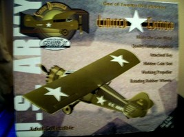 """LIMITED EDITION 1 of 2500 GEARBOX"""" ARMY STINSON DETROITER"""" MODEL AIRPLAN... - $37.62"""