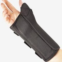 BSN Medical Prolite Wrist Splint with Abducted Thumb (Extra Small Left Black) - $27.19