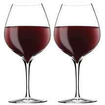WATERFORD CRYSTAL Elegance Merlot Wine Glass Set of 2 NEW IN THE BOX - $56.09