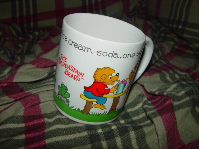 1987 BerenStain Bear Cup A Princess House image 4