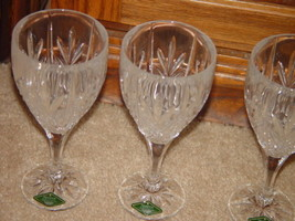 Milano Set Of 4 Shannon Crystal Goblets 24% Lead Crystal By Godiner image 2