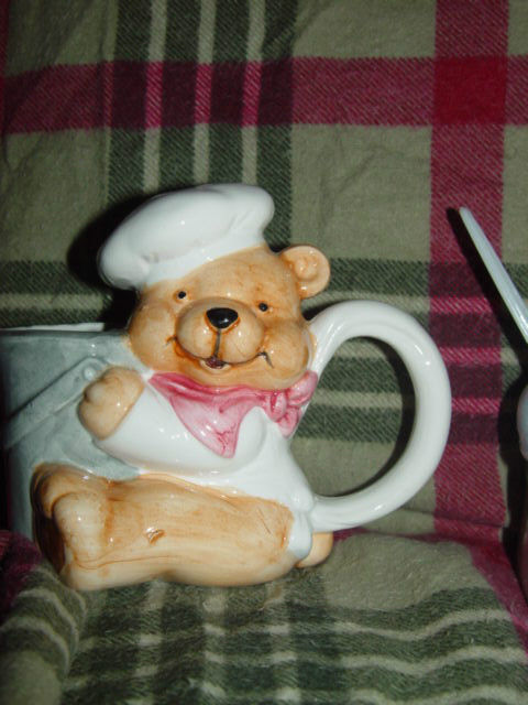 HomeTrends Chef Bear Sugar And Creamer image 4