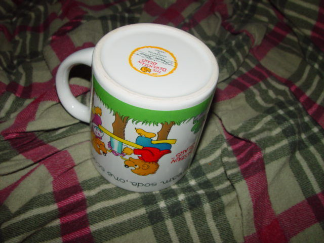 1987 BerenStain Bear Cup A Princess House image 7