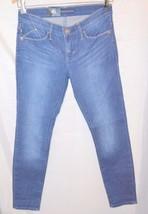 Misses Rock & Republic Leggings Kashmiere Jeans Crop Blue Heron Size 2 - $32.30
