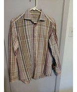 Etro 40 Men's Long Sleeve Button Down Shirt sz medium - $32.48