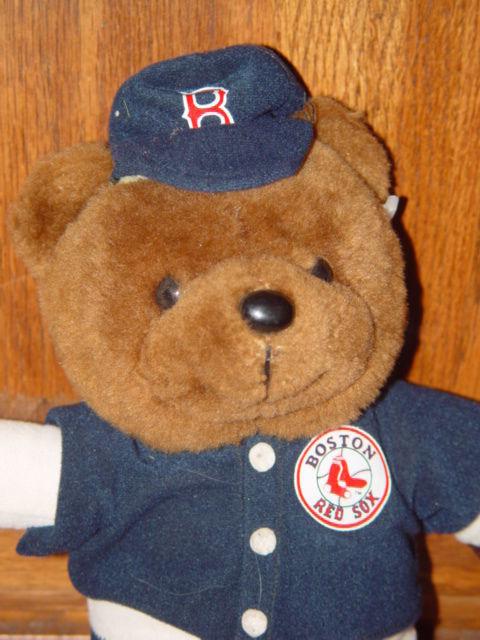 """2003 Boston Red Sox stuffed Bear 12""""Tall"""