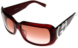 Giorgio Armani Sunglasses Women Shiny Red Maroon GA 459/F/S E67TT - $177.21