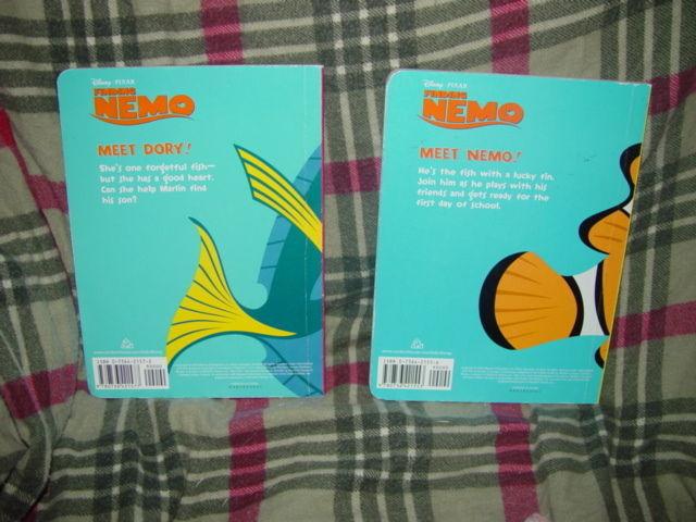 Nemo And Dory Set of 2 Books image 3