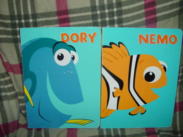 Nemo And Dory Set of 2 Books image 2