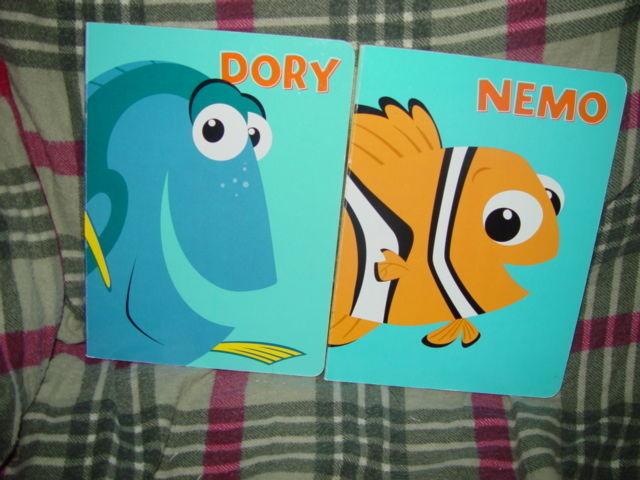 Nemo And Dory Set of 2 Books