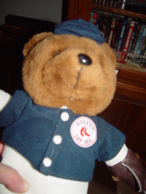 "2003 Boston Red Sox stuffed Bear 12""Tall image 5"