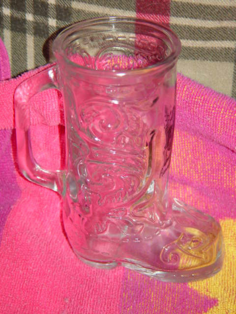 Boots Randolph  Clear Glass Boot image 5