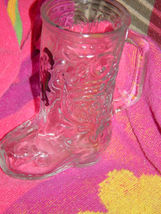 Boots Randolph  Clear Glass Boot image 8