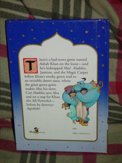 Disney's Aladdin Abu and Evil Genie Vol. 4