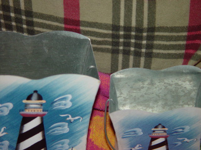 Set of 2 LightHouse Tin With Handle image 8