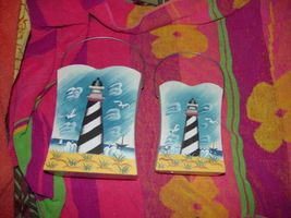Set of 2 LightHouse Tin With Handle image 9