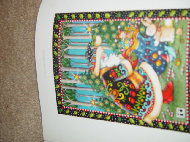 A Very Mary Christmas by Mary Engelbreit 1999 A Collection of Holiday Art image 2