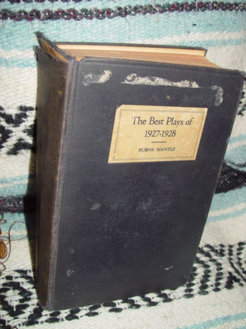 The Best Plays of 1927-1928 Burns Mantle