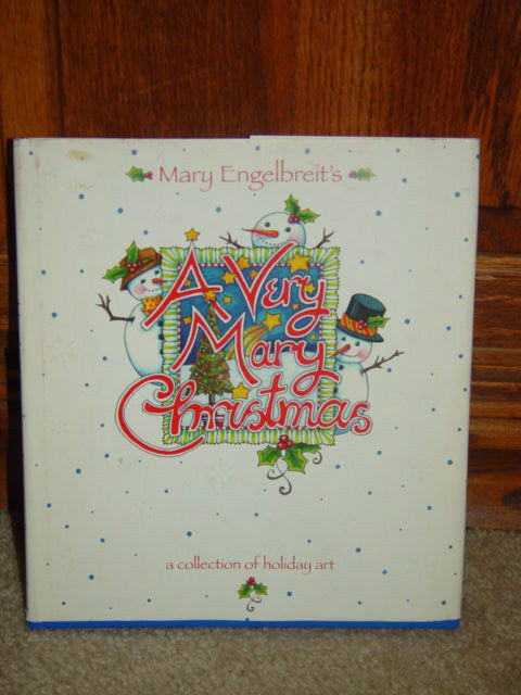 A Very Mary Christmas by Mary Engelbreit 1999 A Collection of Holiday Art