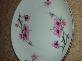 Diamond China Cherry Blossom Japan Bread Side Plate - $10.00