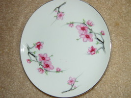 Diamond China Cherry Blossom Japan Bread Side Plate image 2