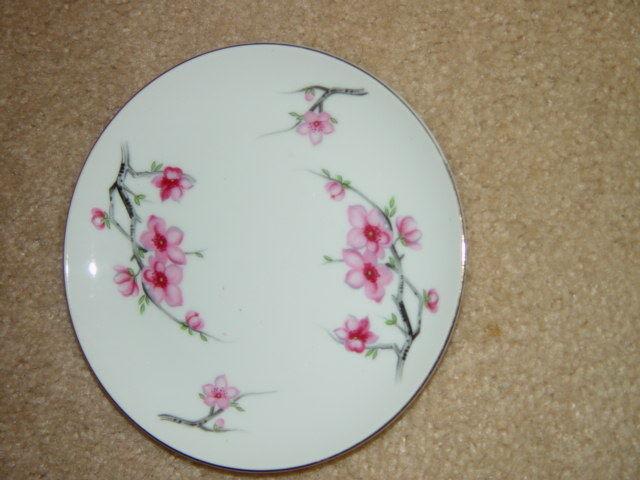 Diamond China Cherry Blossom Japan Bread Side Plate image 7