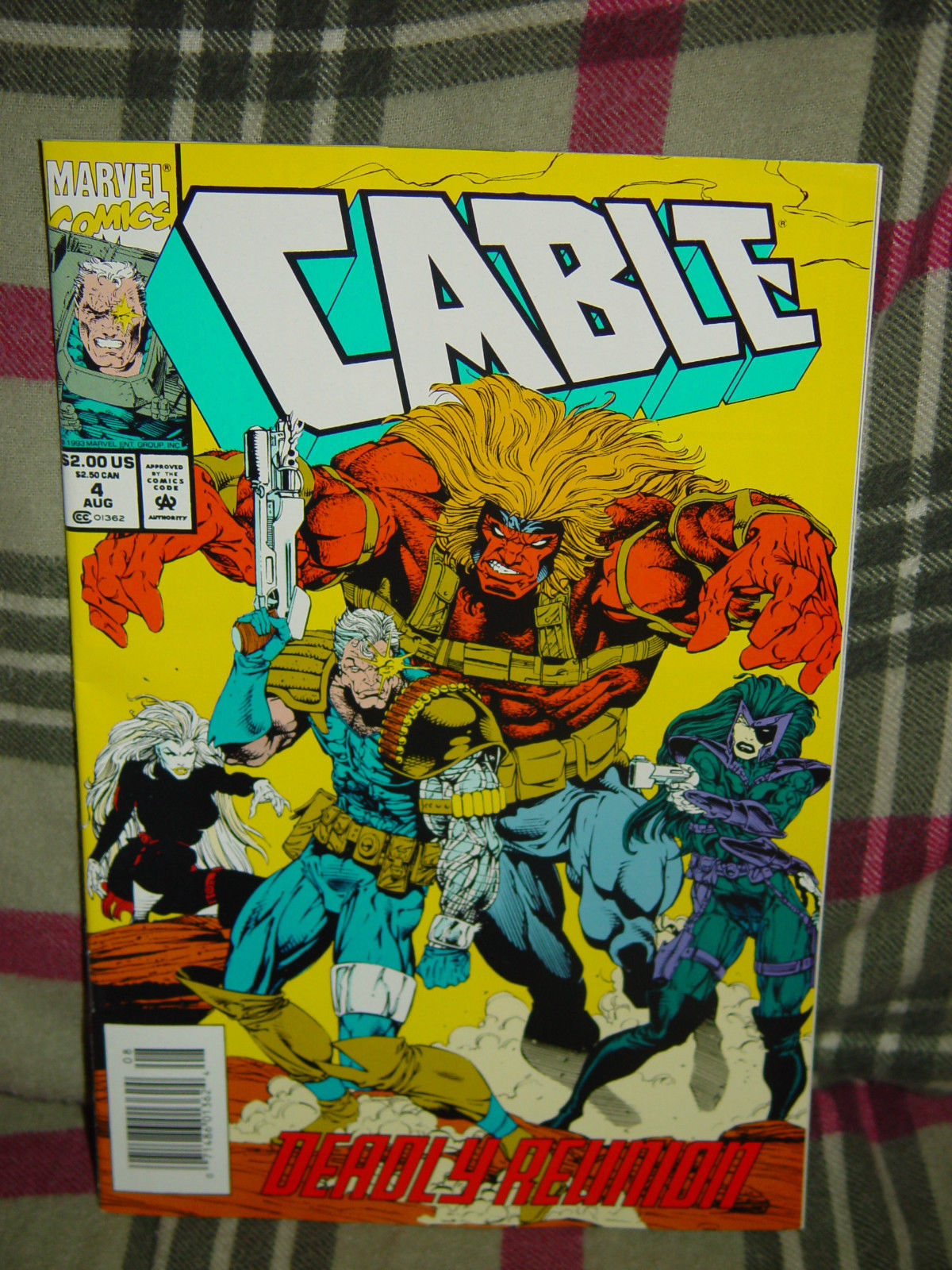 Aug 1993 Marvel Cable Deadly Reunion