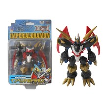 D-Real Imperialdramon Fighter Mode Digimon Figure DReal DigiWarrior Bandai Japan - $74.25