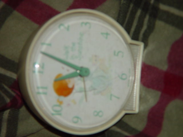 Precious Moments Alarm Clock (Walk in The Sunshine) Clock Do Not Work Alarm Dose image 3