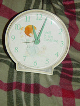 Precious Moments Alarm Clock (Walk in The Sunshine) Clock Do Not Work Alarm Dose image 1