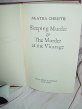 Sleeping murder & The murder at the vicarage 1976 Hardcover image 2