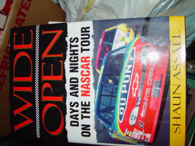 Wide Open Days and Nights on the Nascar Tour by Shaun Assael 1998, Hardcover image 2