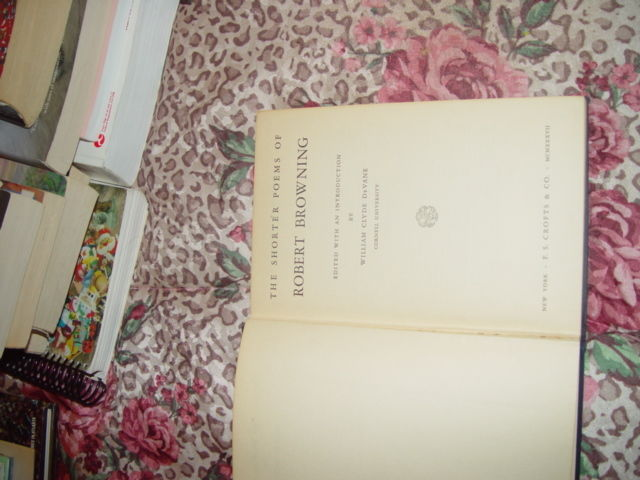 The Shorter Poems of Robert Browning  1934 2nd Printing image 6