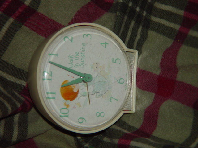 Precious Moments Alarm Clock (Walk in The Sunshine) Clock Do Not Work Alarm Dose image 6