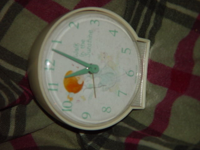 Precious Moments Alarm Clock (Walk in The Sunshine) Clock Do Not Work Alarm Dose image 7
