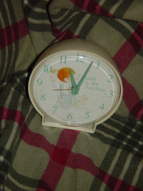 Precious Moments Alarm Clock (Walk in The Sunshine) Clock Do Not Work Alarm Dose image 8