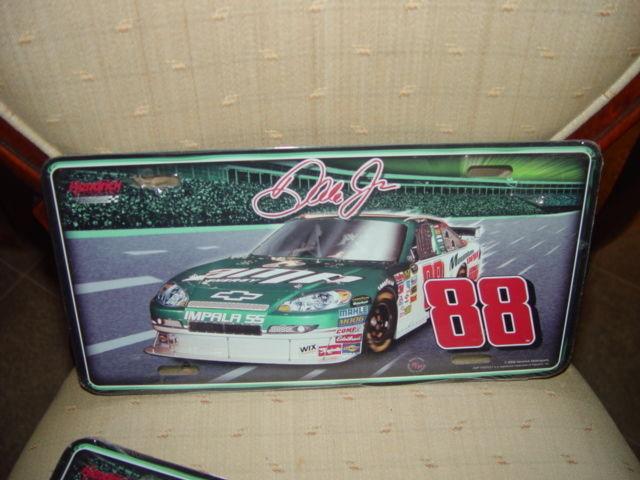 Dale Earnhardt Jr. # 88 Nascar License Plate