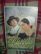 Allison's Journey  Wanda & Brunstetter Book # 4  by Wanda E. Brunstetter image 1