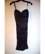 Kurt Thomas black rouched strapless cocktail dress Size O - $39.99