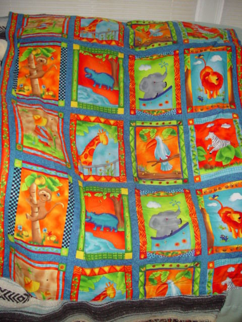 Baby - Kids Blanket With Animal  Print image 1