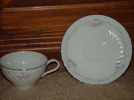 Genuine Porcelain China Gold Standard Made in Japan Cup & Sacuer Set Sli... - $12.00