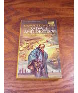 Salvage and Destroy PB Book, by Edward Llewellyn, First Edition Paperback - $5.55