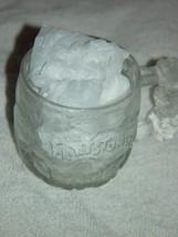 "1993 McDonald's The Flintstones Rocky Road Glass Mug 3 1/4""Tall image 2"